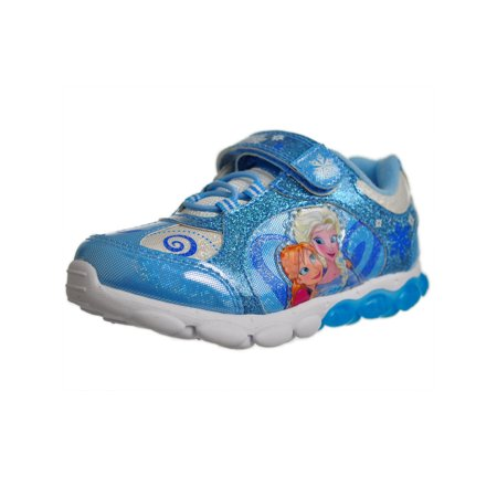 Frozen Girls Anna and Elsa Light Up Shoes