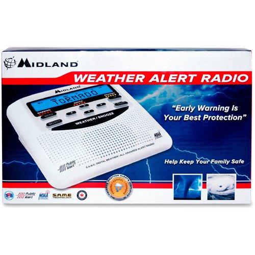 Midland, MROWR120B, WR120B Weather Alert, 1, White