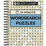 Brain Games 10 Minute Word Search Puzzles (Other)