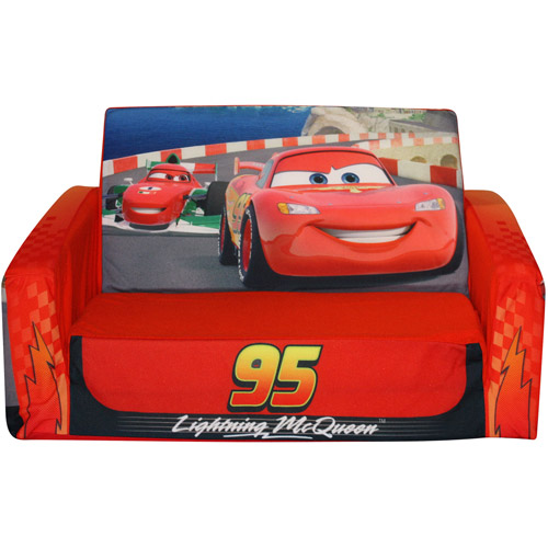 Disney Cars Flip Open Sofa Walmartcom
