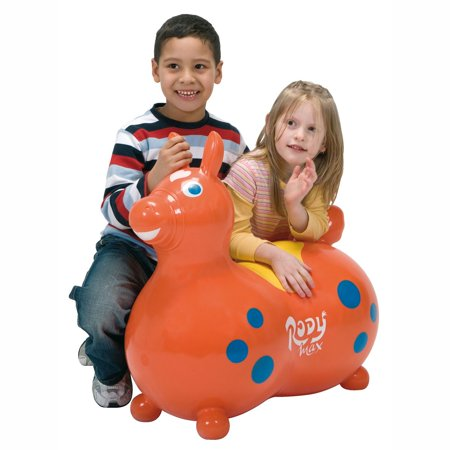 Gymnic Rody Horse Max Baby Toddler Ride On Latex Free Vinyl Bouncing Toy,