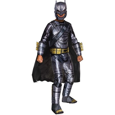 Big Boys' Batman V Superman Armored Batman Costume, NOTE: Costume sizes are different from clothing sizes; review the Rubie's size chart when.., By Rubie's
