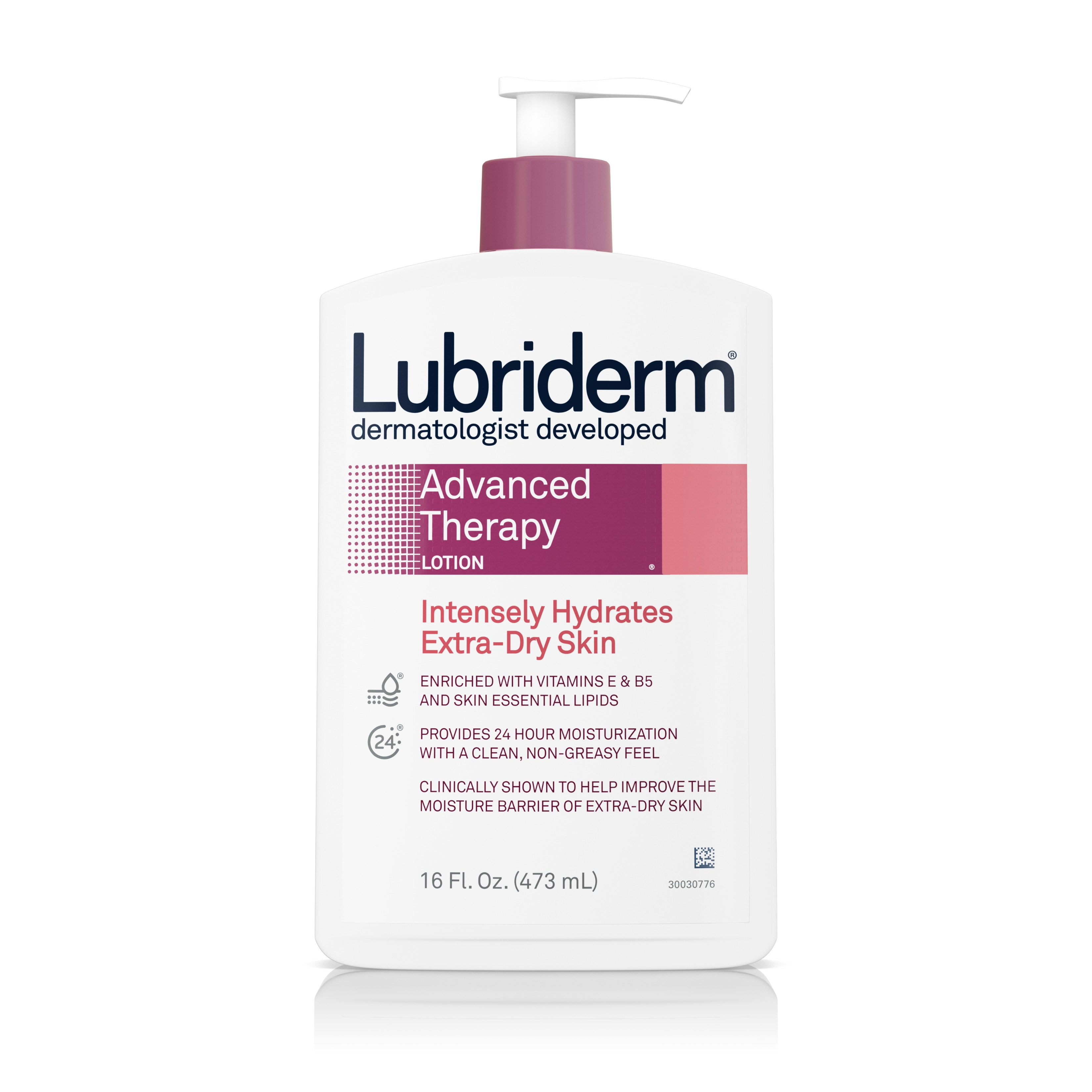 Lubriderm Advanced Therapy Lotion with Vitamin E and B5, 16 fl. oz