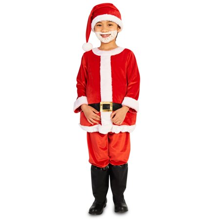 Jolly Belly Child Santa Suit - Painting Your Belly For Halloween