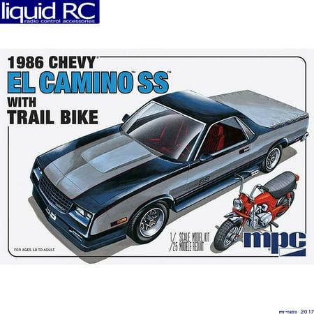 MPC 888 1/25 1986 Chevy El Camino SS w/Dirt Bike