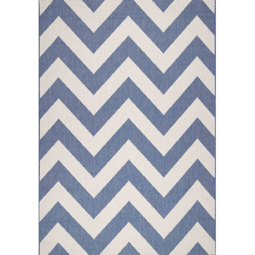 nuLOOM Machine-Made Maxine Outdoor Chevron Area Rug