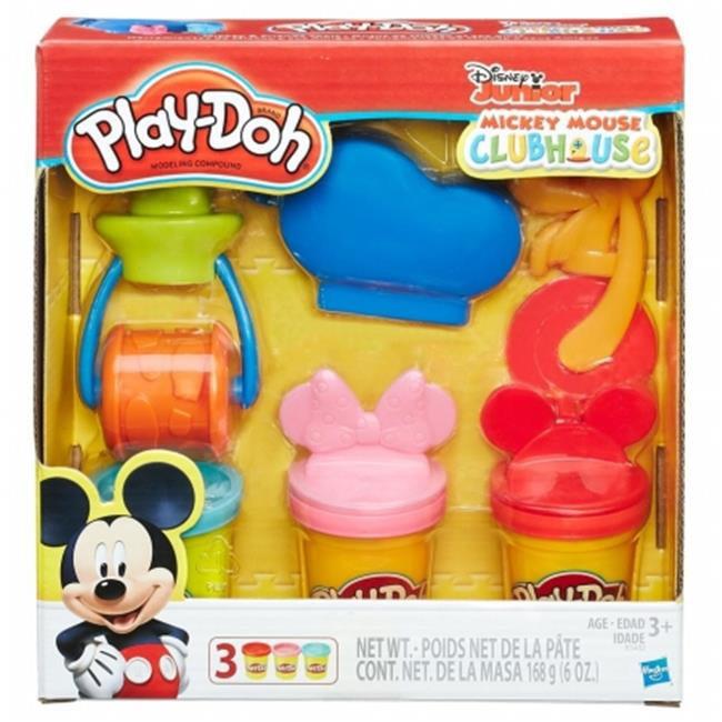 Hasbro HSBB3402 Play Doh-Mickey & Friends Tools, Pack of 4 by Hasbro