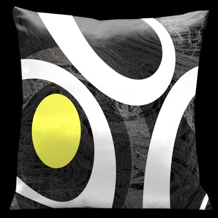 Lama Kasso Ham And Eggs Throw Pillow