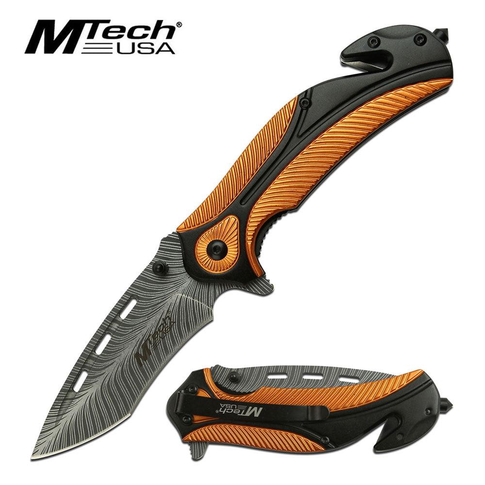Feather Linerlock A/O Orange