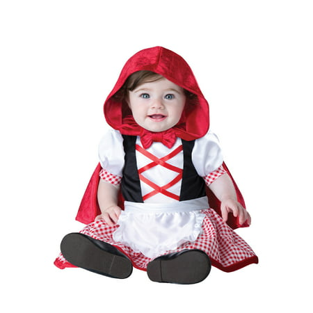 Little Red Riding Hood Infant Costume - Party City Red Riding Hood Costume