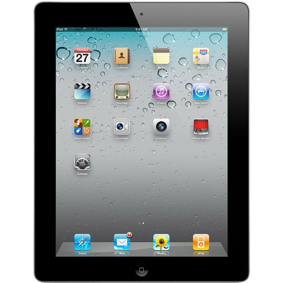 Apple iPad 2 MC916LL/A Tablet 64GB, Wifi, Black 2nd Generation Refurbished