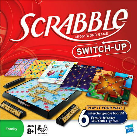 Scrabble Switch-Up, Shake Up Your Scrabble Game! By Hasbro Ship from US