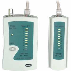 REMOTE NETWORK CABLE TESTER RJ45/RJ11/BNC/COAX CAT5 CAT6