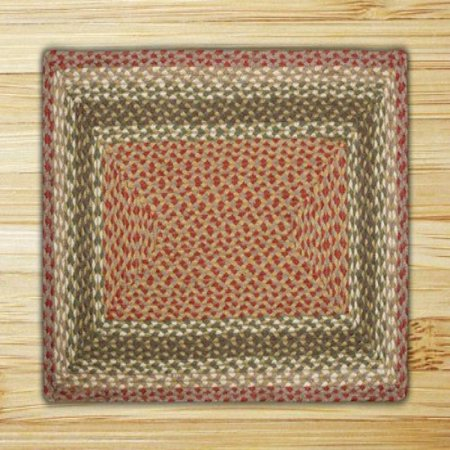 Earth Rugs Rectangle Area Rug 27 By 45 Oliveburgundygray