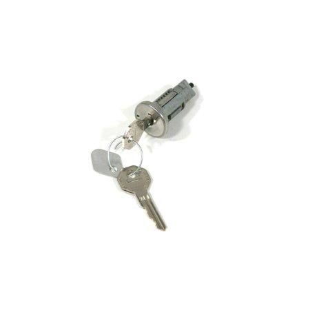 Eckler's Premier  Products 55-195057 El Camino Ignition Lock & Keys, Later Style Keys, - El Camino Ignition Key Lock