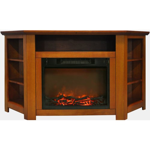 Red Barrel Studio Cesar Modern Tv Stand With Electric Fireplace