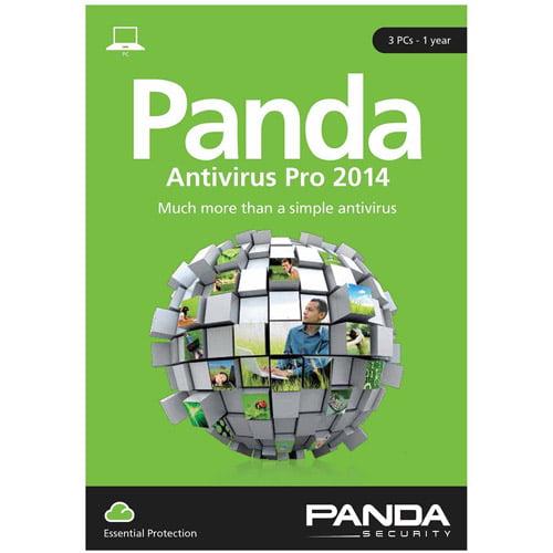 Panda Security B12AP14ESD1 Antivirus Pro 2014, 3 PCs (Digital Code)
