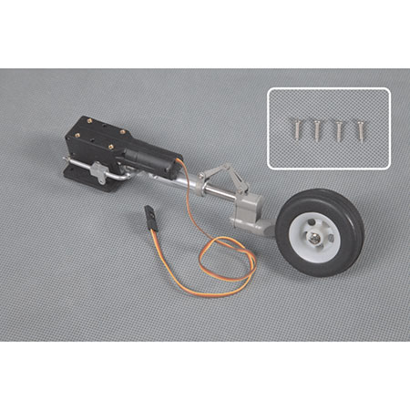 FMS PM113SIL Front Gear System,Silver:T28 V4