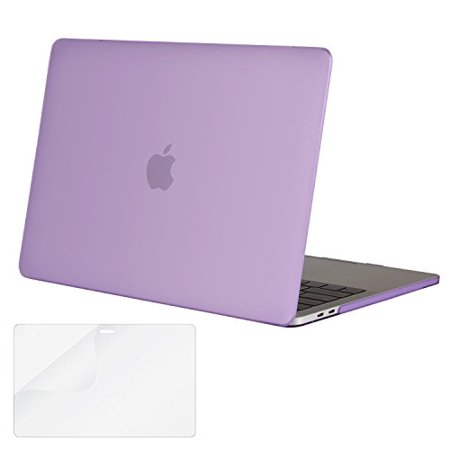 san francisco b5c42 d7f5d Mosiso MacBook Pro 13 Case 2018 & 2017 & 2016 A1989/A1706/A1708, Plastic  Hard Case Shell Cover with Screen Protector for Newest Macbook Pro 13 Inch  ...
