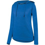 A Product of Augusta Sportswear Ladies' Shadow Tonal Heather Hoodie - ROYAL - XS [Saving and Discount on bulk, Code Christo]