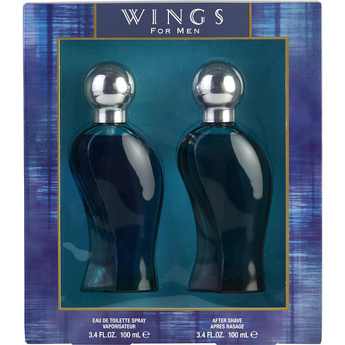 Giorgio Beverly Hills 3948091 Wings By Giorgio Beverly Hills Edt Spray 3.4 Oz & Aftershave 3.4 Oz