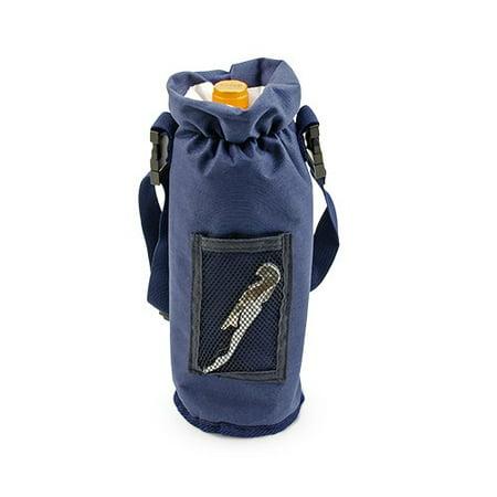 Carrier Bottle, Blue Single Bottle Insulated Waterproof Wine Carrier Bottle ()