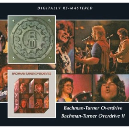Bachman-Turner Overdrive 1 & 2 (CD) (Remaster)
