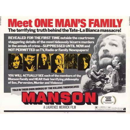 Manson POSTER Movie Mini Promo (Manson Depp Halloween)