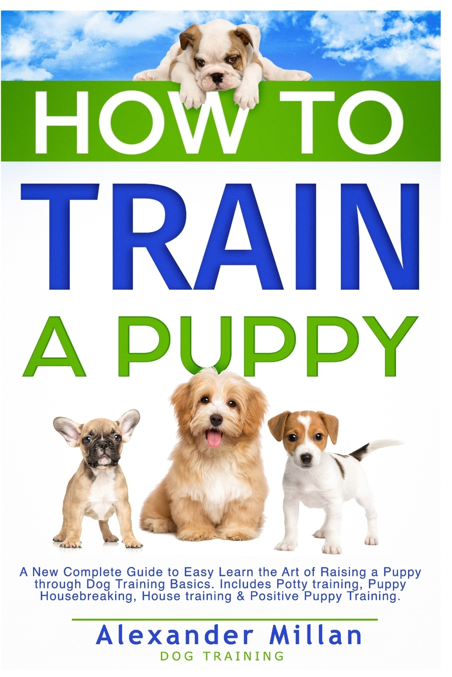 How To Train A Puppy A New Complete Guide To Easy Learn The Art Of Raising A Puppy Through Dog Training Basics Includes Potty Training Puppy Housebreaking House Training Positive