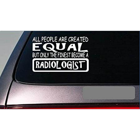 Hospital Vinyl (Radiologist equal Sticker *G722* 8