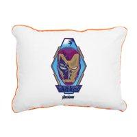 "CafePress - Iron Man Head - 12""x15"" Canvas Pillow, Throw Pillow"