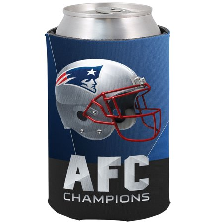 New England Patriots 2018 AFC Champions 2Fer Can Cooler - No Size