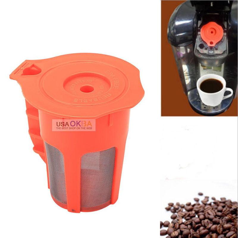 For Keurig 2.0 K-Cup Reusable Coffee Filter Pod fits K200 K250 K400 K450 K550 by