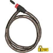 Bell Lock Cable Key Ballistic 500 Armor Lock, 4'