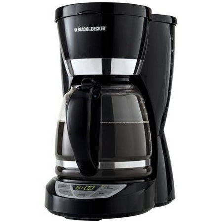 Black and Decker 12 Cup Digital Coffee Maker - Walmart.com