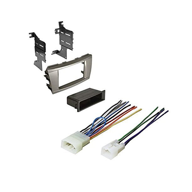 TOYOTA CAMRY 2007 2008 2009 2010 2011 CAR STEREO RADIO CD PLAYER RECEIVER  INSTALL MOUNTING KIT WIRE HARNESS - Walmart.com - Walmart.comWalmart