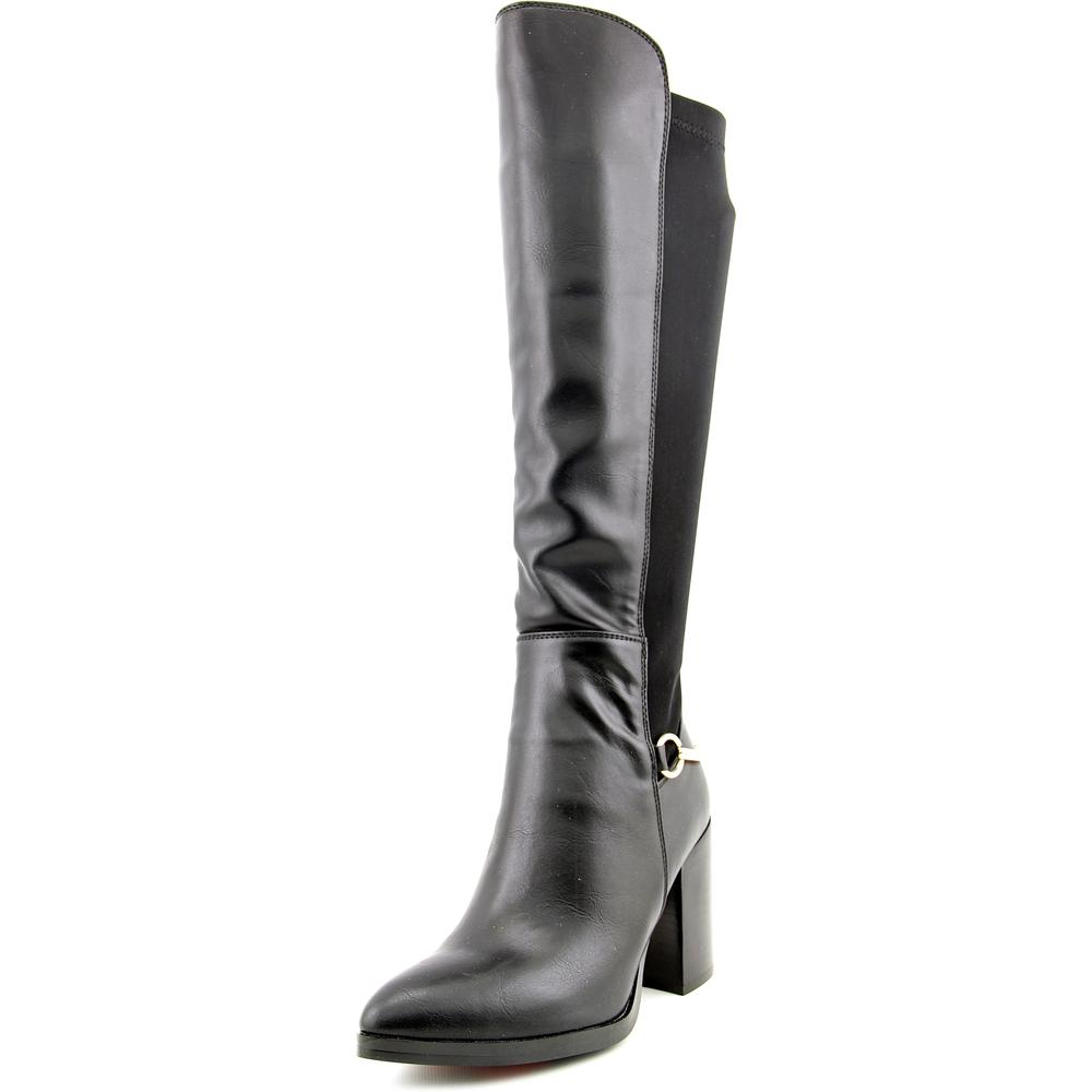 Luichiny Local Legend Women Pointed Toe Synthetic Knee High Boot by Luichiny