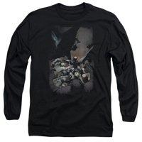 BATMAN/BATMAN #1 - L/S ADULT 18/1 - BLACK - 2X