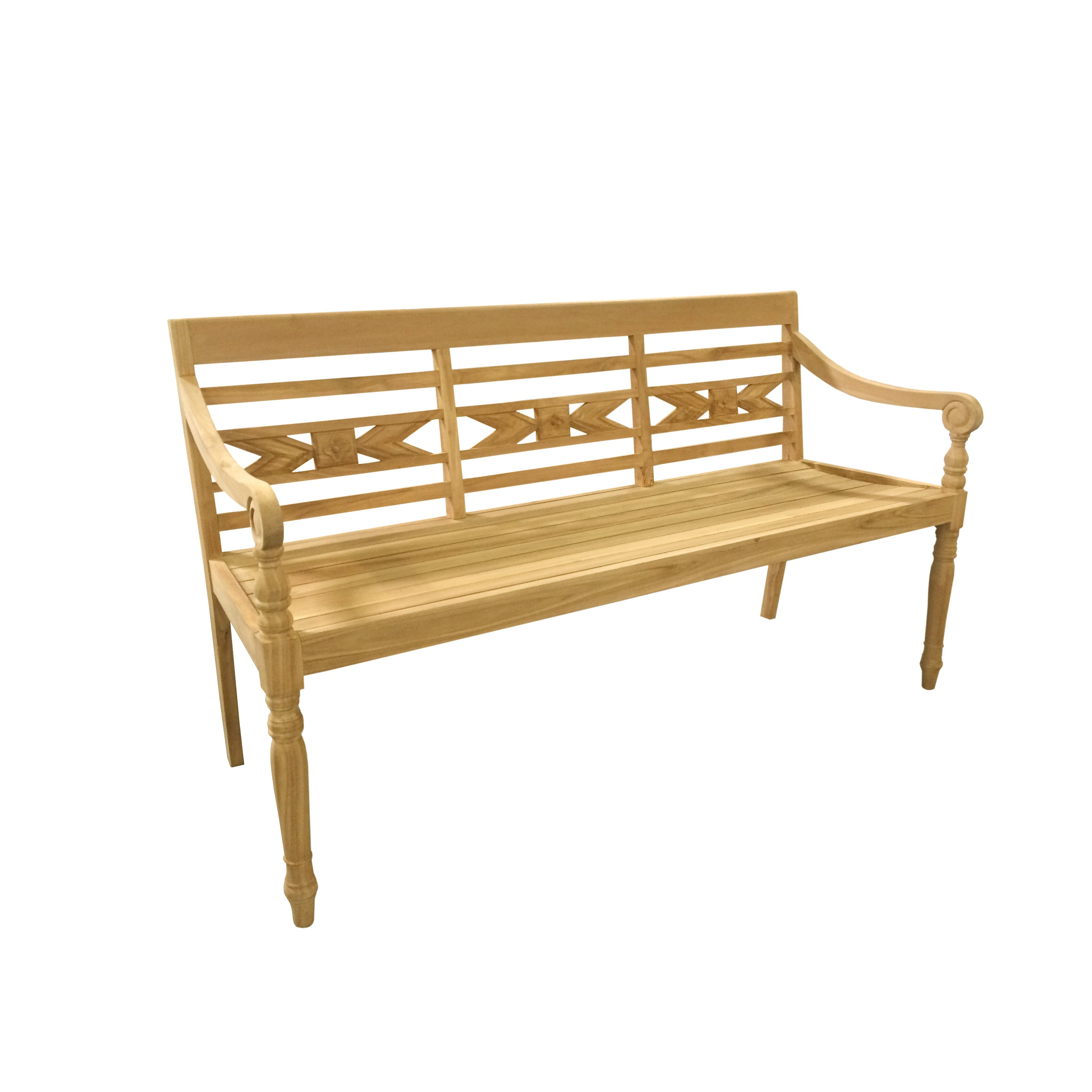 D Art Collection Alwari Teak Garden Bench Walmart Com Walmart Com