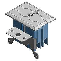 Thomas & Betts B121BFSS 1-Gang Residential Non-Metallic Adjustable Floor Box 3.33 Inch 20 Cubic-Inch Carlon Adjust-A-Box™