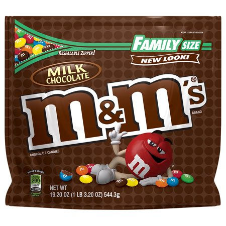 M & M's Milk Chocolate Candies, 19.2 oz