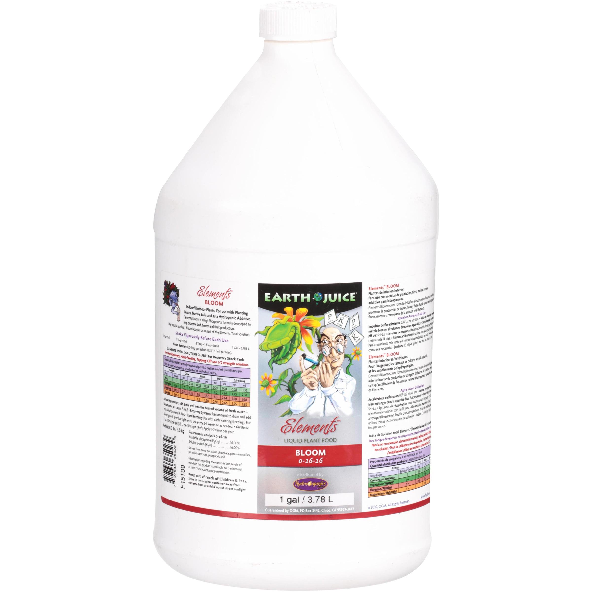 Earth Juice® Elements™ Bloom Liquid Plant Food 1 gal. Jug