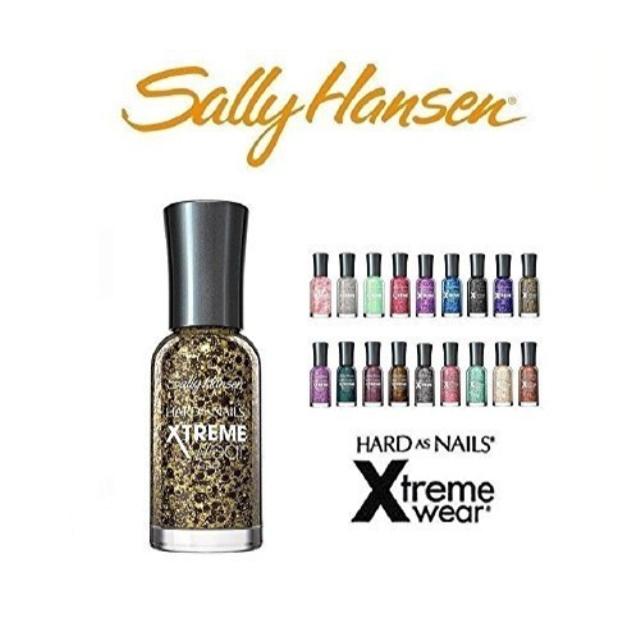 10 sally hansen hard as nails xtreme wear 10 fingernail polish's all different colors no repeats