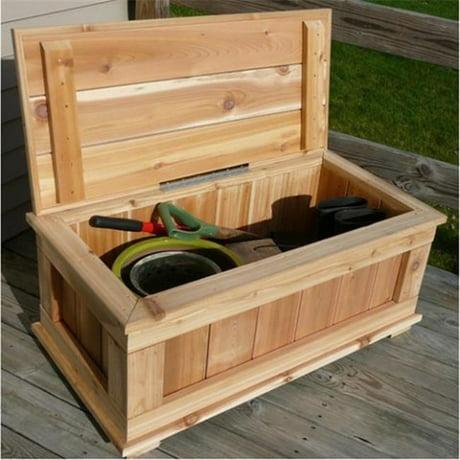 Infinite Cedar 40x21x17 Premium Quality Cedar Storage