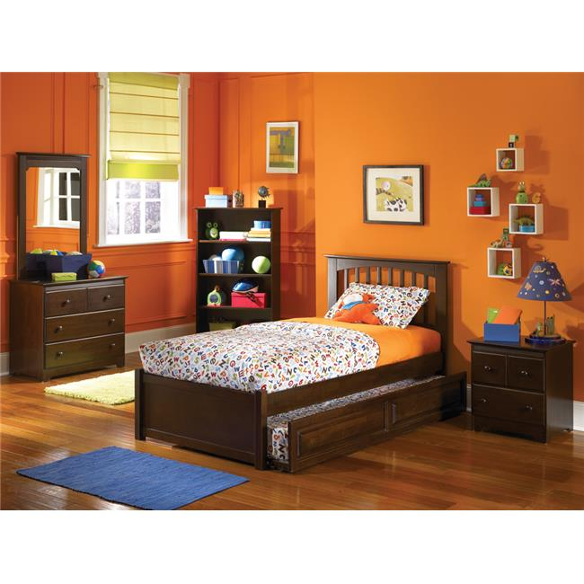 Atlantic Furniture Brooklyn Platform Bed