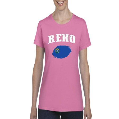 Reno Nevada Women's Short Sleeve (Women In Reno)