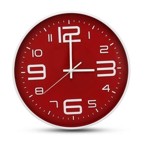 Bestller 3D Wall Clock Modern Design Large Wall Watch Home Office Decor Silent Clocks ()