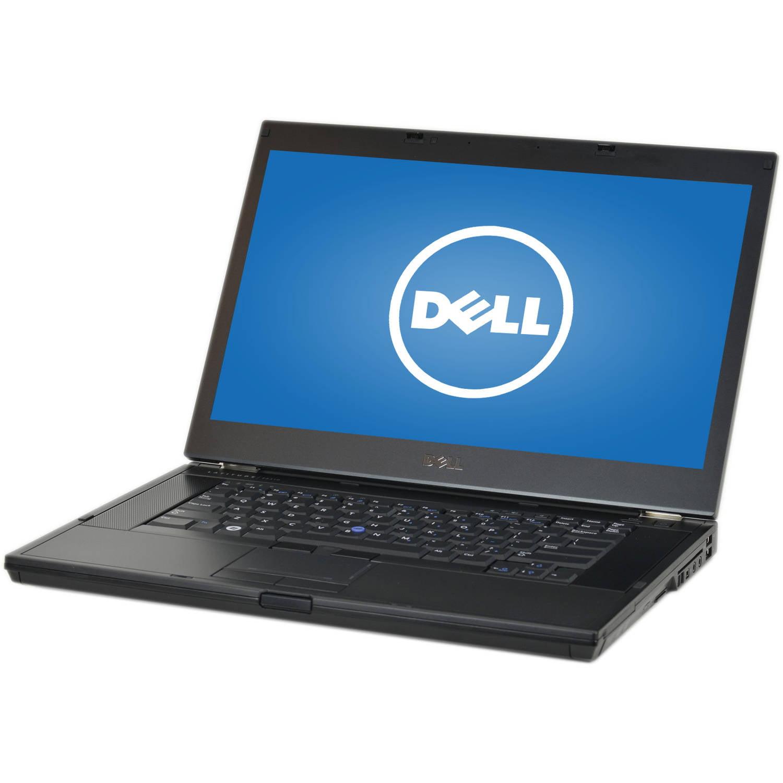 """Refurbished Dell Silver 15.6"""" Latitude E6510 Laptop PC with Intel Core i5-520M Processor, 4GB Memory, 500GB Hard Drive and Windows 10 Home"""