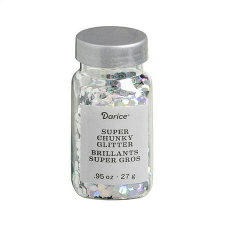 Super Chunky Glitter: Silver, 0.95 ounces](Glitter Silver)