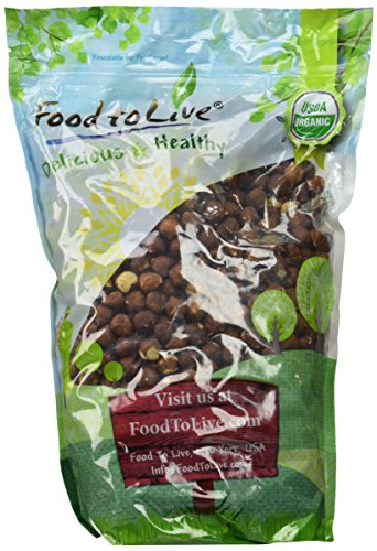 Food To Live Organic Hazelnuts   Filberts (Raw, No Shell) (4 Pounds) by Food To Live